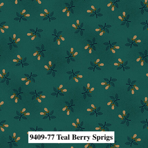 Berry Sprigs Teal