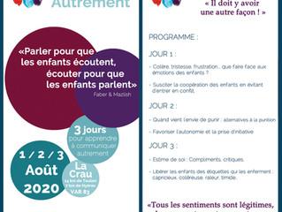 STAGE ETE 2020 : Communiquer autrement avec les enfants et les ados