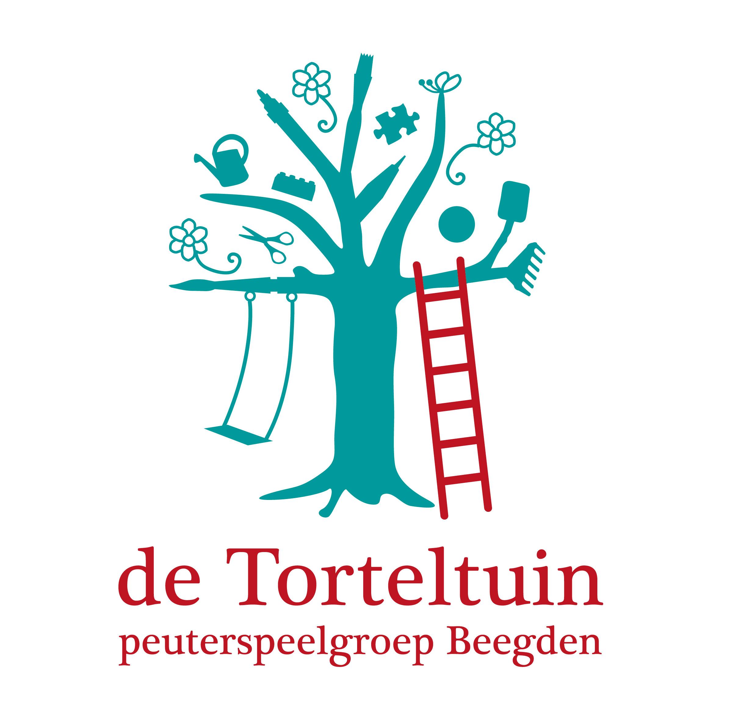 Logo ontwerp - De Torteltuin