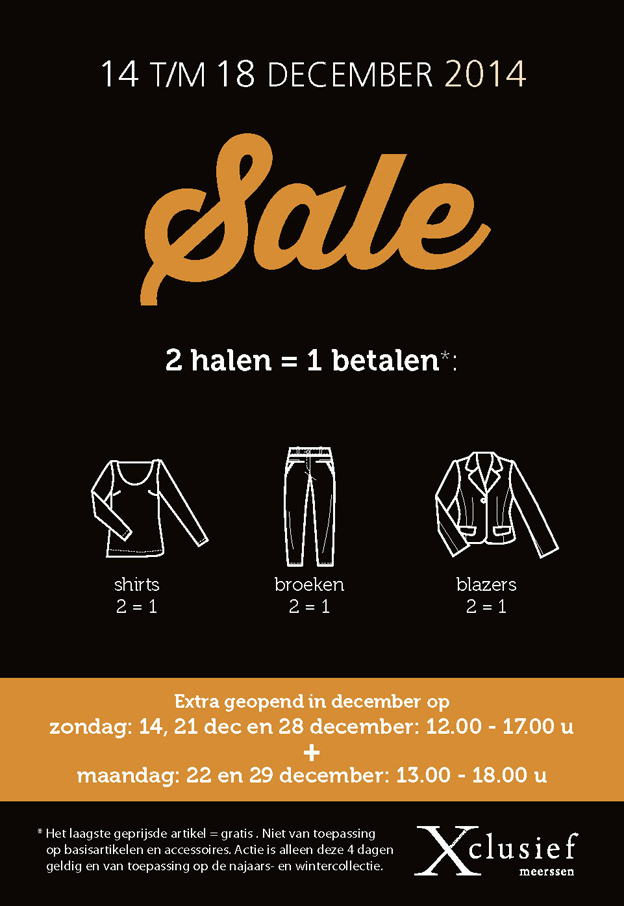 Sale kaart & illustraties