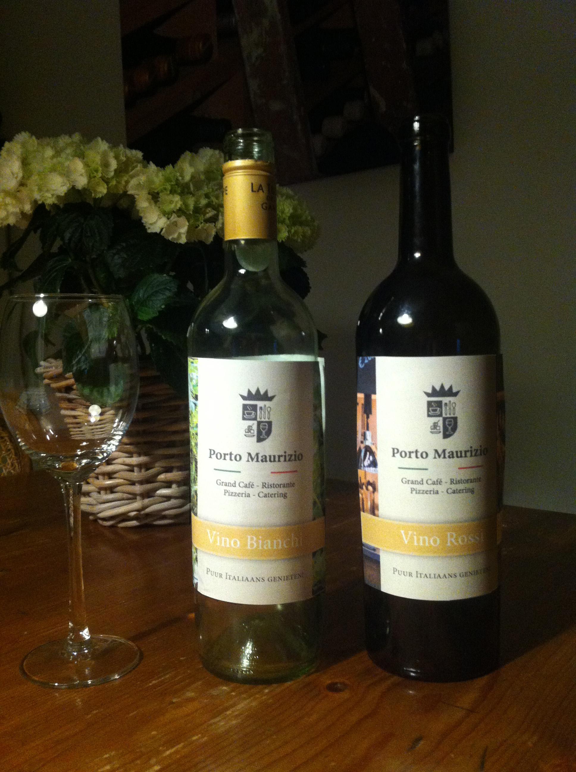 Wijn etiketten