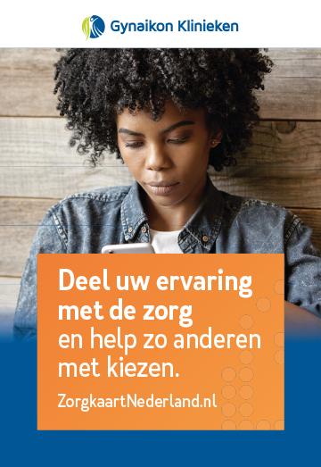 Poster en kaartjes - Zorgkaart Nederland