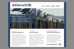 Ontwerp website en huisstijl - Wil'sKracht