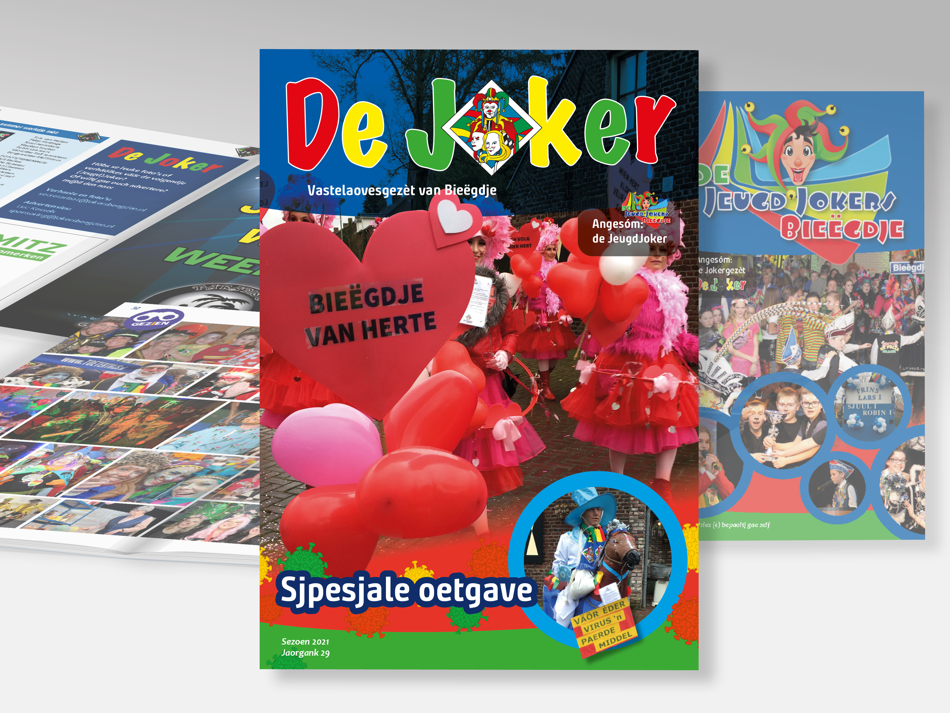 Carnavals magazine - De Jokers