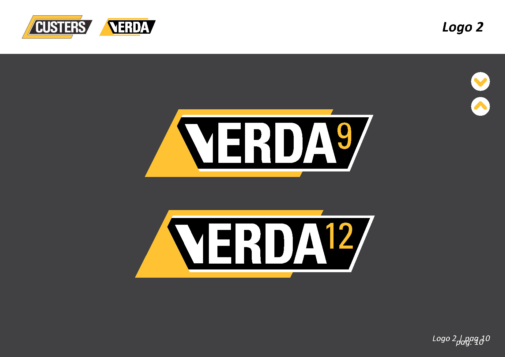 Logo Verda by Custers