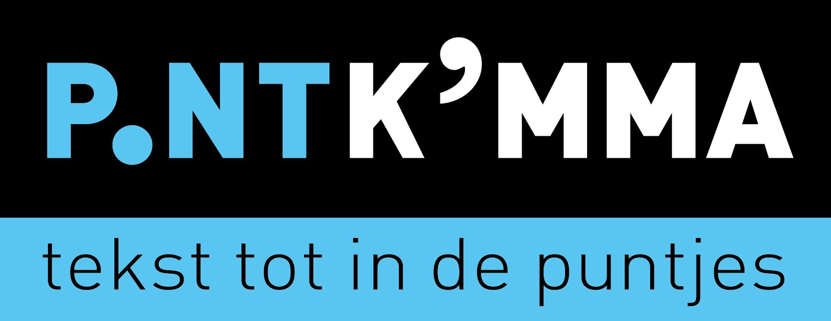Logo en visitekaartjes - Tekstbureau Punt-Komma