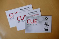Visitekaartjes - CUE Support