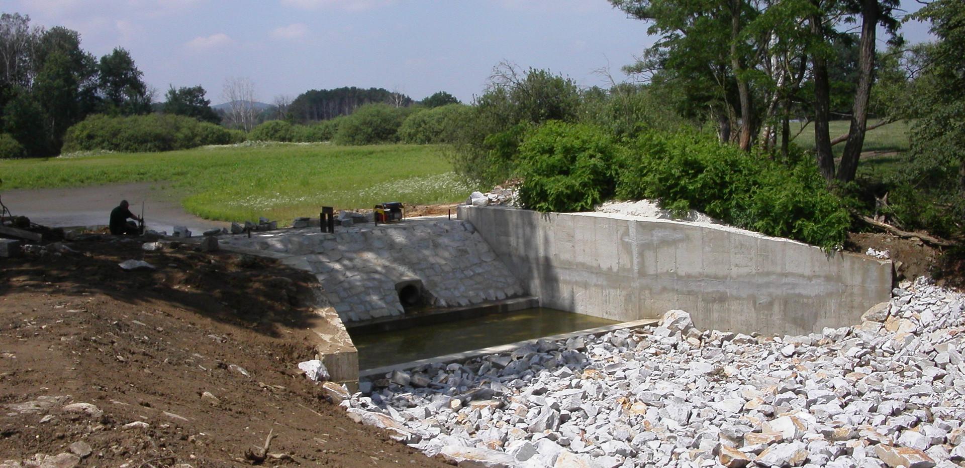 Rekonstrukce splavu