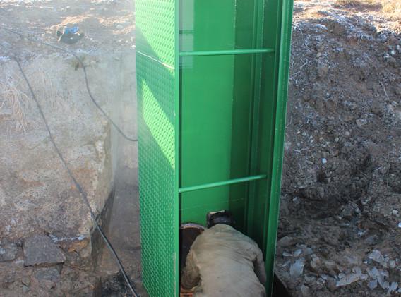 Instalace požeráku