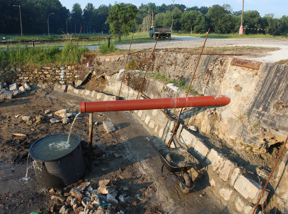 Rekonstrukce sádek Hluboká