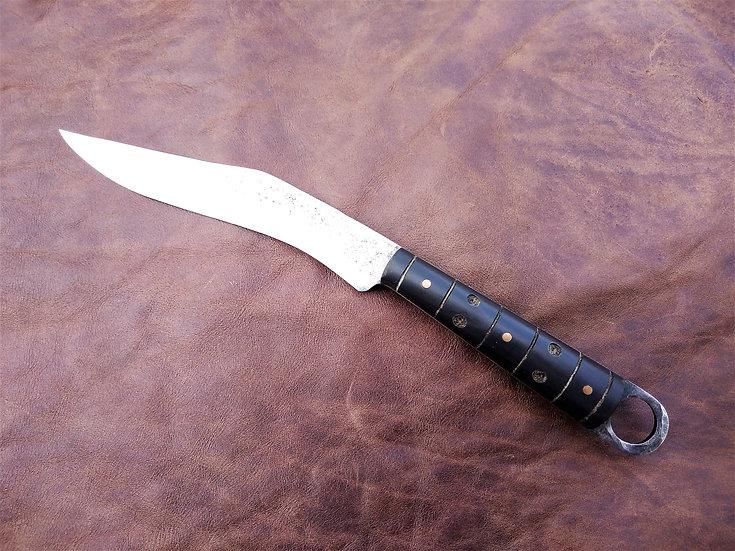 Horn Roman Gull's Wing Knife