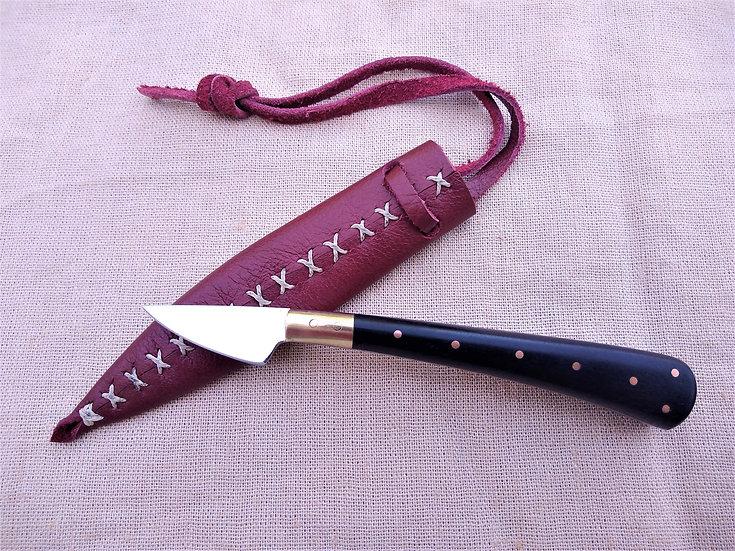 Bog Oak Pen Knife