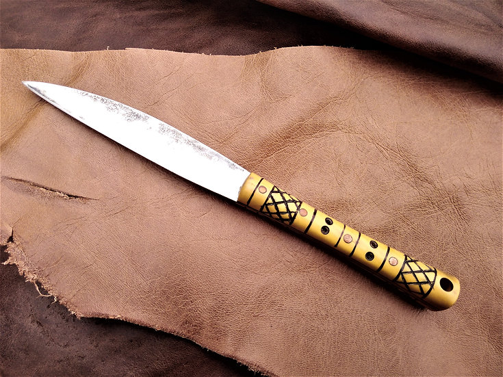 Small Roman Knife with Boxwood Handle