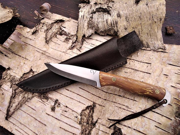 Spalted Apple Bushcraft Knife
