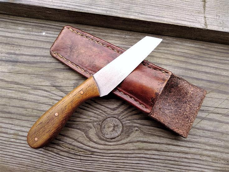 Iroko Site Knife, Left-Handed