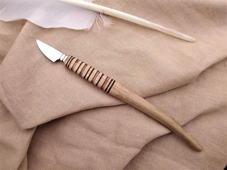 Long Hazel Pen Knife