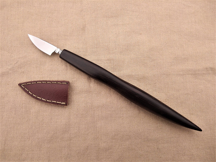 Wenge Long Handled Pen Knife