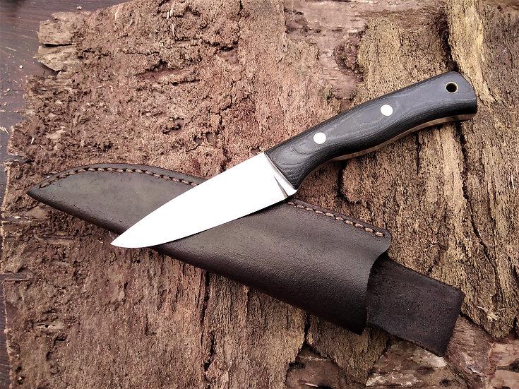 Canvas Micarta Bushcraft Knife