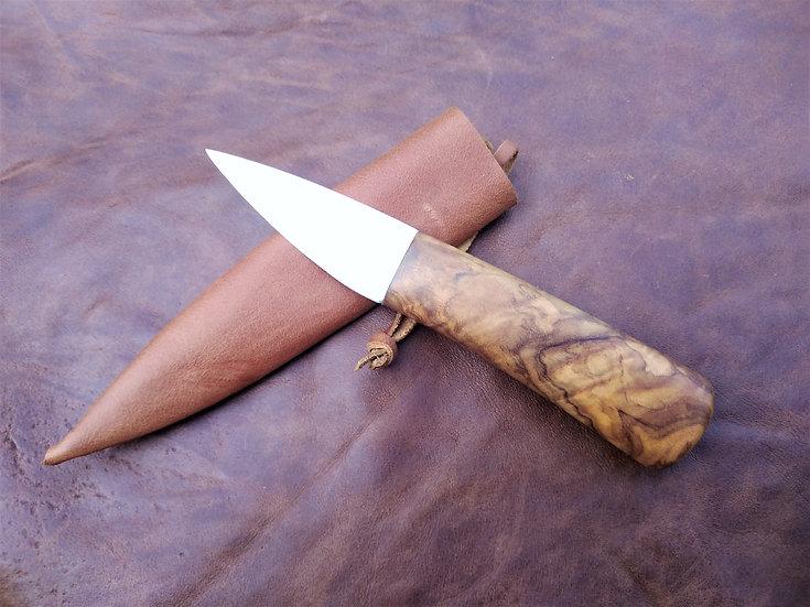 Olive Camp Knife