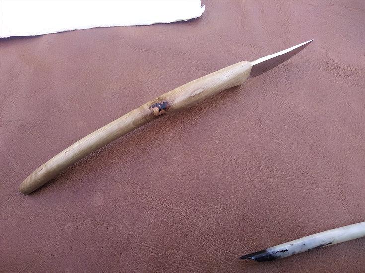 Curly Eucalyptus Pen Knife