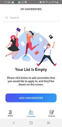 Your University List is Empty.jpg