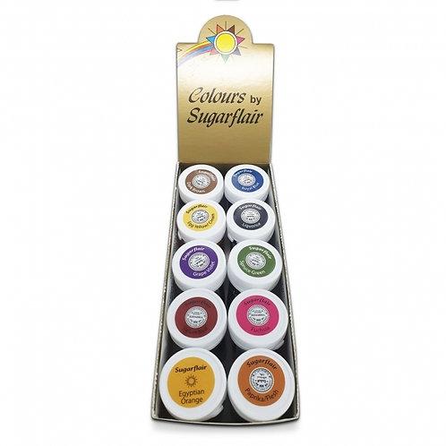 Sugarflair Spectral Paste Mixed Set