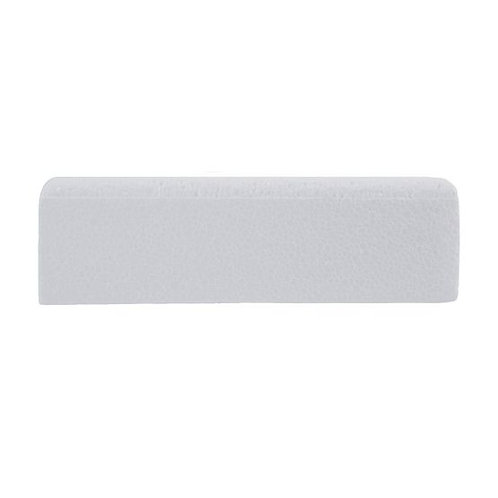 "8""  Square High Density Polystyrene Cake Dummy Bevelled/Chamfered edge"