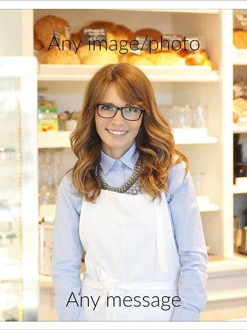 A4 Portrait Edible Icing Sheets