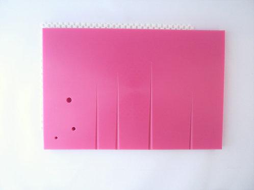 Leaf veining (groove) board