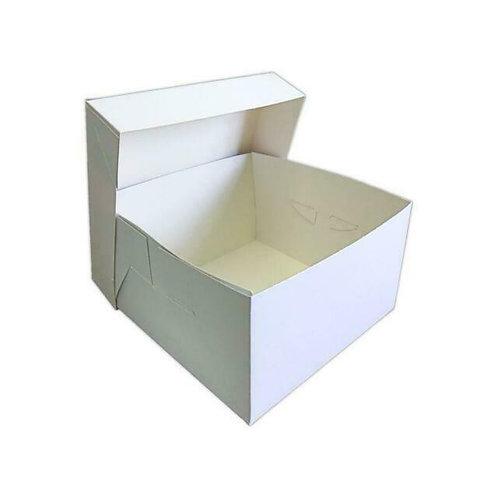 "11"" White Cake Box"