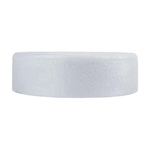 "8""  Round High Density Polystyrene Cake Dummy Bevelled/Chamfered edge"