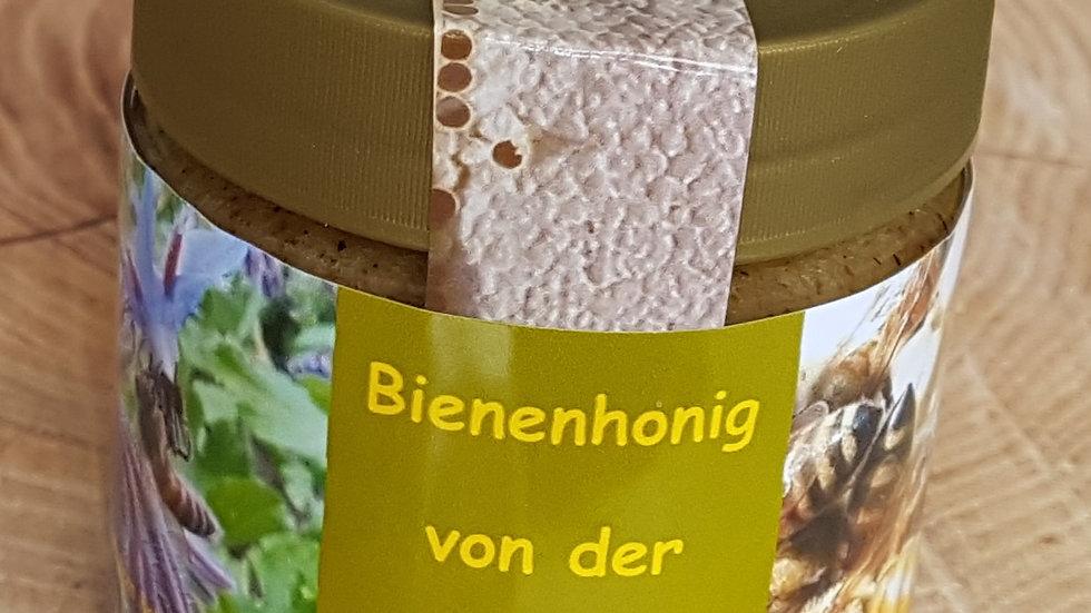 250g Honig von der Ostsee mit Sanddorn (Brotaufstrich)