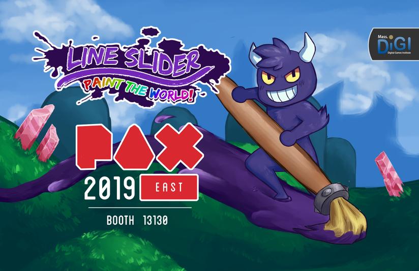 Line Slider PAX Poster