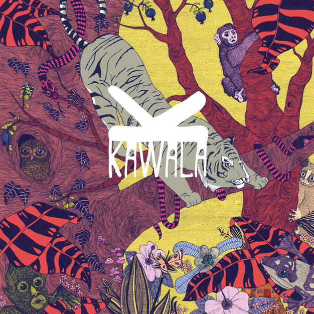EP artwork for Kawala, commissioned by Mahogany Records