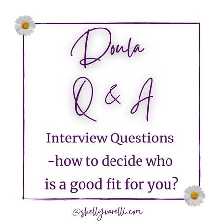 Doula Q & A