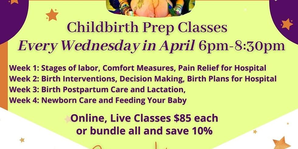 Childbirth Prep Classes