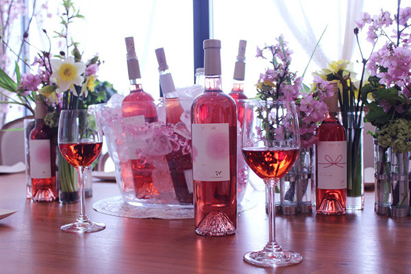 vin rosé SAKURA party