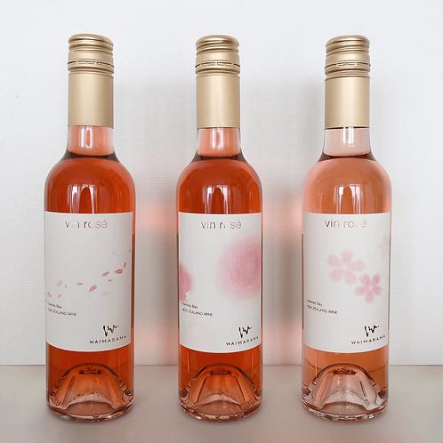 WAIMARAMA vin rose SAKURA 2017/2018/2019 セット ハーフ375ml
