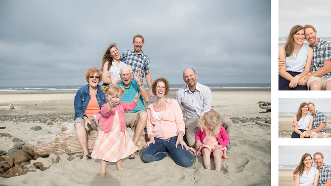 The Ferguson Family {Lincoln City, Oregon Photographer}
