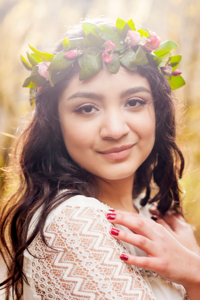 Sarahi Quincenera {Silver Falls, OR Teen Photographer}