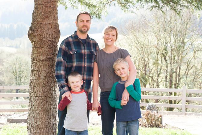 Carpenter Family {McMinnville, OR Family Photographer}
