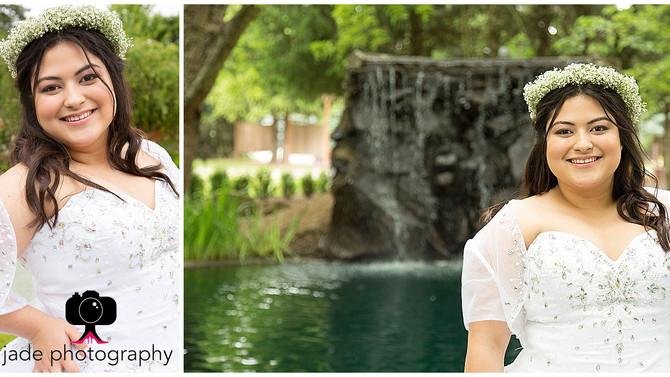 Gigi Quinceañera {The Water Oasis, Newberg photographer}