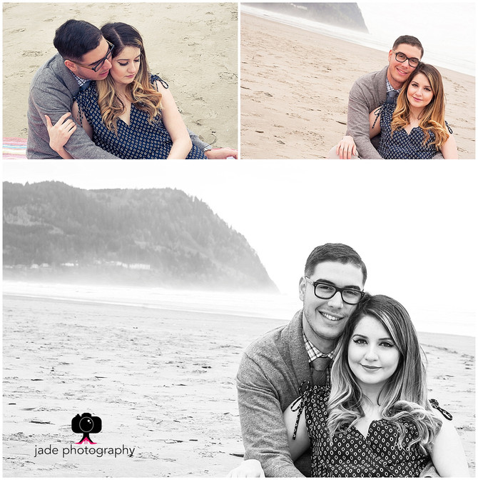 Arianna & Santiago {Portland & Seaside Oregon Engagement photographer}
