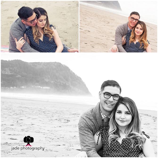 Arianna & Santiago {Portland & Seaside Oregon Engagement photographer}