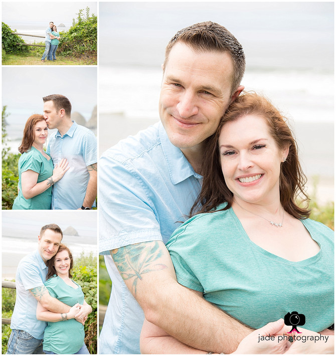 Jen & Scott {Oceanside, Oregon Photographer}