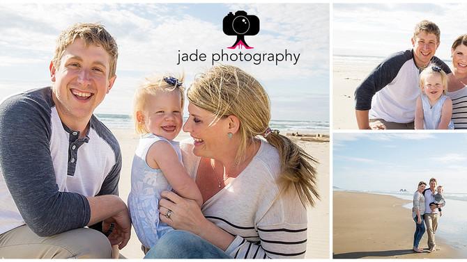 Northrup Family {Rockaway Beach, Oregon Family Photographer}