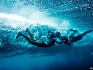 Elle réalise d'incroyables photos sous-marines !!!
