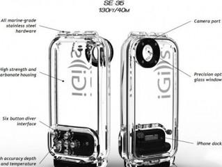 Faites de la plongée avec votre iPhone... Jusqu'à 40 mètres de profondeur.