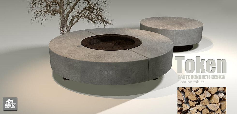שולחן אש - Token