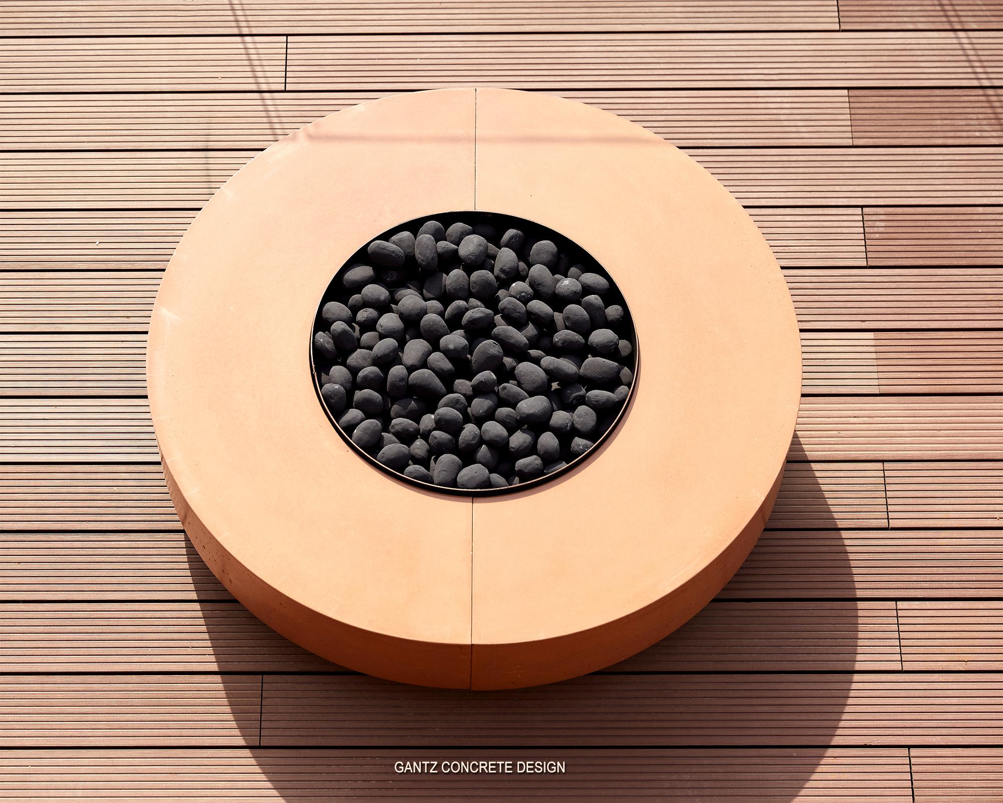שולחן אש פיירפיט דגם TOKEN עם מבער גז